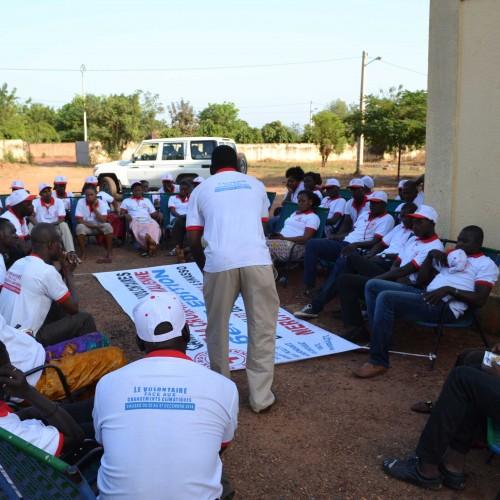 La 6ème édition du camp national des volontaires de la Croix-Rouge malienne