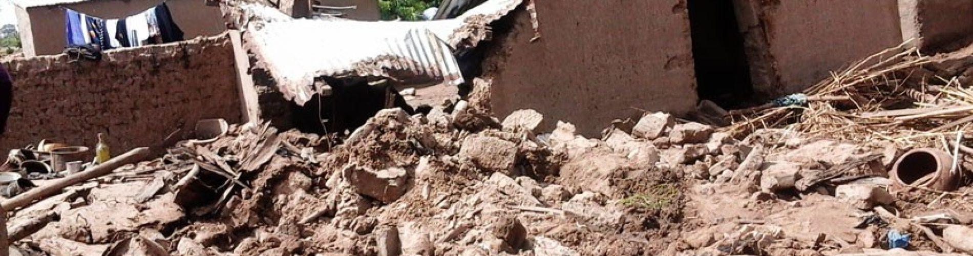 Situation des inondations au Mali par les évaluateurs de la Croix-Rouge malienne