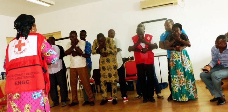 Secourisme et DIH : Le CICR et la Croix-Rouge Malienne outillent des journalistes