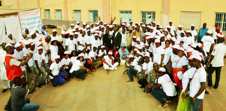 Camp des volontaires de la Croix-Rouge Malienne