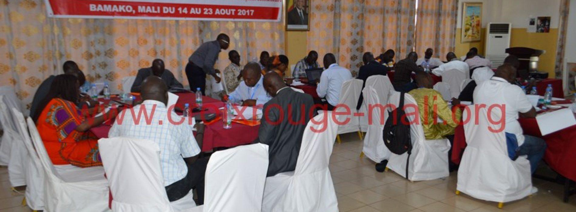 La Croix-Rouge Malienne hôte de la formation de l'équipe régionale de réponse aux catastrophes