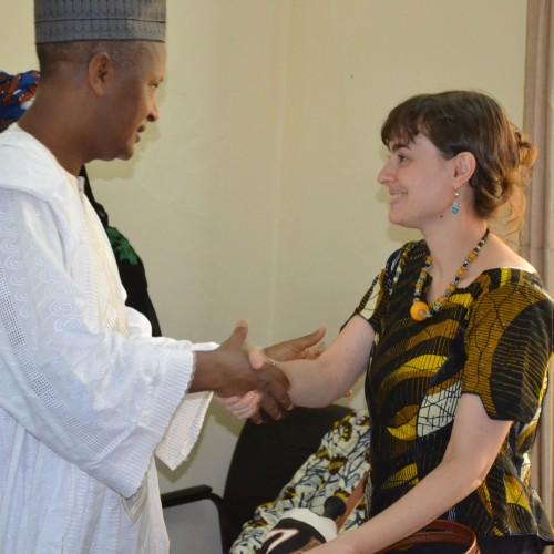 Cérémonie d'au revoir pour la Déléguée Maria Margherita Anna Torelli de la Croix-Rouge de Belgique